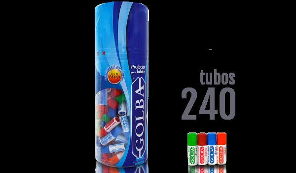 Exhibidor 240 tubos