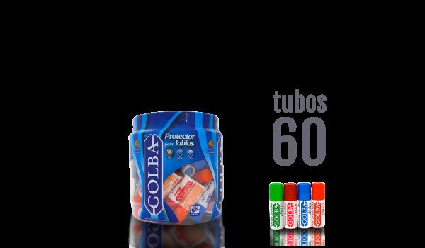 Exhibidor 60 tubos